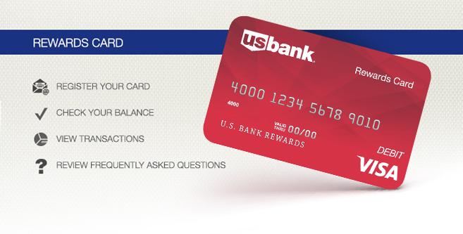 login banner - Visa Rewards Card